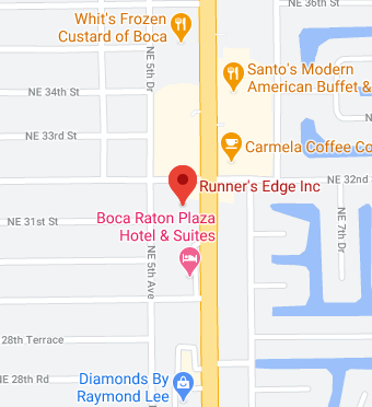 Runner's Edge Inc Google Maps directions